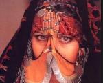 Invanka as bedouin bride in poem