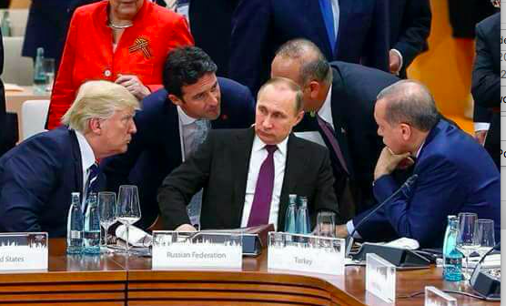 putin and trump at g20