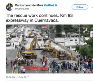 mexico highway repair